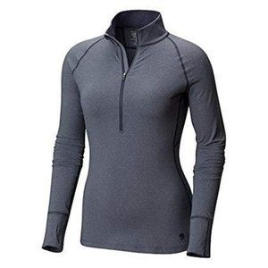 Mountain Hardwear Butterlicious Zip Neck (Size S)